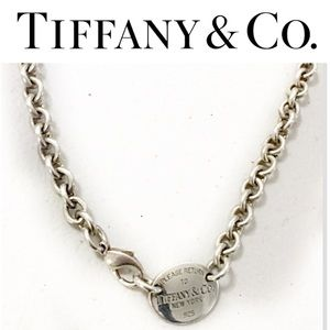 Vintage Retired Tiffany & Co. 925 Choker Necklace